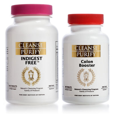Indigest Free and Colon Booster Set